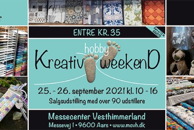 Kreativ Hobby Weekend 2021